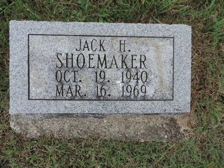SHOEMAKER, JACK H. - Ross County, Ohio | JACK H. SHOEMAKER - Ohio Gravestone Photos