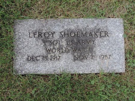 SHOEMAKER, LEROY - Ross County, Ohio | LEROY SHOEMAKER - Ohio Gravestone Photos
