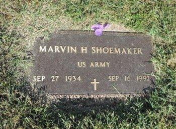 SHOEMAKER, MARVIN H - Ross County, Ohio | MARVIN H SHOEMAKER - Ohio Gravestone Photos