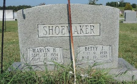 SHOEMAKER, MARVIN H. - Ross County, Ohio | MARVIN H. SHOEMAKER - Ohio Gravestone Photos