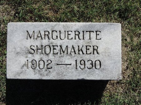 SHOEMAKER, MARGUERITE - Ross County, Ohio | MARGUERITE SHOEMAKER - Ohio Gravestone Photos
