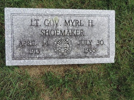SHOEMAKER, MYRL H, - Ross County, Ohio | MYRL H, SHOEMAKER - Ohio Gravestone Photos