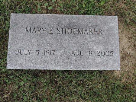 SHOEMAKER, MARY E - Ross County, Ohio   MARY E SHOEMAKER - Ohio Gravestone Photos