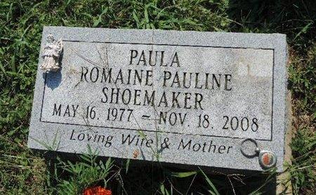 SHOEMAKER, ROMAINE PAULINE - Ross County, Ohio | ROMAINE PAULINE SHOEMAKER - Ohio Gravestone Photos