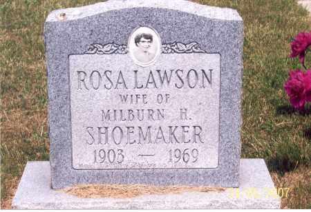 SHOEMAKER, ROSA - Ross County, Ohio | ROSA SHOEMAKER - Ohio Gravestone Photos