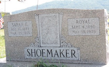 SHOEMAKER, SARAH E. - Ross County, Ohio | SARAH E. SHOEMAKER - Ohio Gravestone Photos