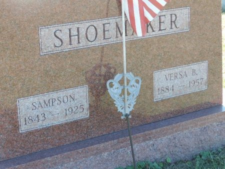 SHOEMAKER, VERSA B - Ross County, Ohio   VERSA B SHOEMAKER - Ohio Gravestone Photos