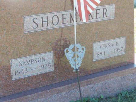 SHOEMAKER, SAMPSON - Ross County, Ohio | SAMPSON SHOEMAKER - Ohio Gravestone Photos