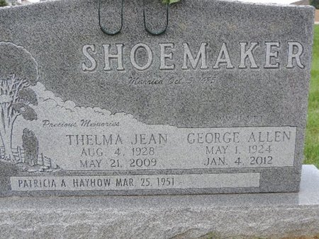 SHOEMAKER, GEORGE ALLEN - Ross County, Ohio | GEORGE ALLEN SHOEMAKER - Ohio Gravestone Photos