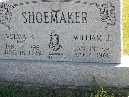 SHOEMAKER, WILLIAM J - Ross County, Ohio | WILLIAM J SHOEMAKER - Ohio Gravestone Photos
