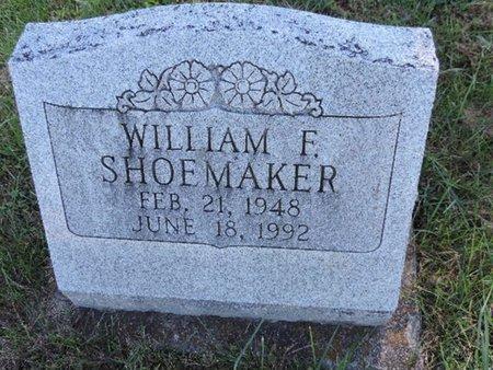 SHOEMAKER, WILLIAM F. - Ross County, Ohio   WILLIAM F. SHOEMAKER - Ohio Gravestone Photos