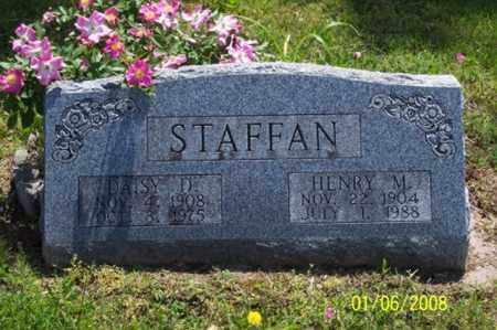 VEST STAFFAN, DAISY DESSY - Ross County, Ohio | DAISY DESSY VEST STAFFAN - Ohio Gravestone Photos