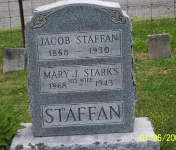 STAFFAN, MARY J. - Ross County, Ohio | MARY J. STAFFAN - Ohio Gravestone Photos