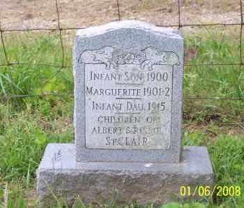 ST. CLAIR, INFANT SON - Ross County, Ohio | INFANT SON ST. CLAIR - Ohio Gravestone Photos