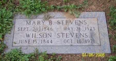 STEVENS, MARY B. - Ross County, Ohio | MARY B. STEVENS - Ohio Gravestone Photos