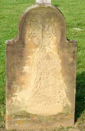 WAIT, BENJAMIN - Ross County, Ohio | BENJAMIN WAIT - Ohio Gravestone Photos