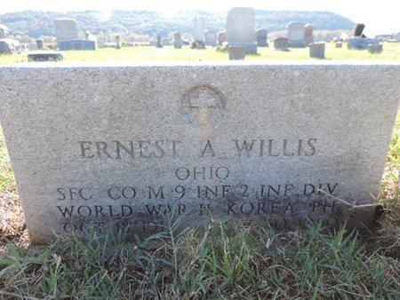 WILLIS, ERNEST A - Ross County, Ohio | ERNEST A WILLIS - Ohio Gravestone Photos