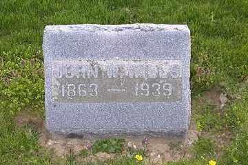 WILLS, JOHN W. - Ross County, Ohio | JOHN W. WILLS - Ohio Gravestone Photos