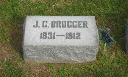 BRUGGER, J. G. - Sandusky County, Ohio | J. G. BRUGGER - Ohio Gravestone Photos