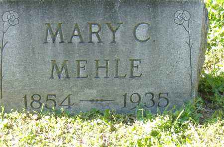 MARY, MEHLE - Sandusky County, Ohio | MEHLE MARY - Ohio Gravestone Photos