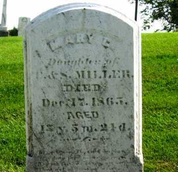 MILLER, MARY C. - Sandusky County, Ohio | MARY C. MILLER - Ohio Gravestone Photos