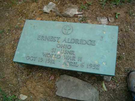 ALDRIDGE, ERNEST - Scioto County, Ohio | ERNEST ALDRIDGE - Ohio Gravestone Photos