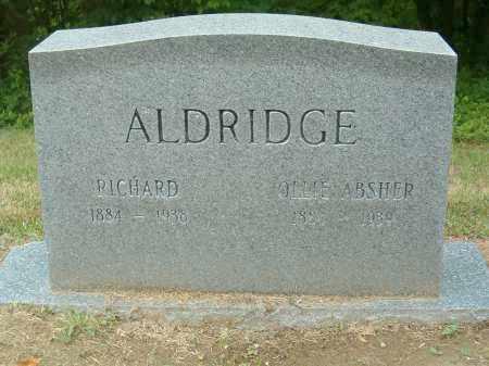ALDRIDGE, RICHARD - Scioto County, Ohio | RICHARD ALDRIDGE - Ohio Gravestone Photos
