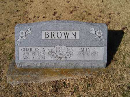 BROWN, EMILY C. - Scioto County, Ohio | EMILY C. BROWN - Ohio Gravestone Photos