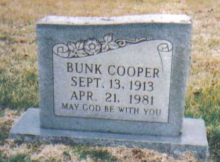 COOPER, BUNK - Scioto County, Ohio   BUNK COOPER - Ohio Gravestone Photos