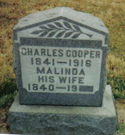 COOPER, MALINDA - Scioto County, Ohio   MALINDA COOPER - Ohio Gravestone Photos