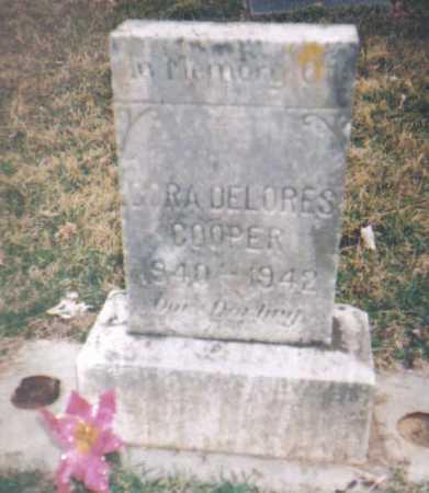 COOPER, CORA DELORES - Scioto County, Ohio | CORA DELORES COOPER - Ohio Gravestone Photos