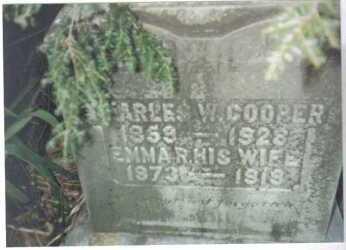 COOPER, CHARLES W. - Scioto County, Ohio   CHARLES W. COOPER - Ohio Gravestone Photos