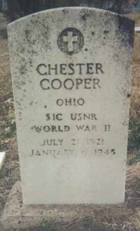 COOPER, CHESTER - Scioto County, Ohio   CHESTER COOPER - Ohio Gravestone Photos