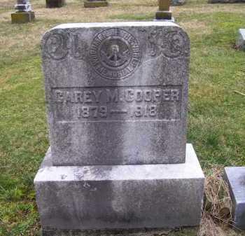 COOPER, CAREY M. - Scioto County, Ohio | CAREY M. COOPER - Ohio Gravestone Photos