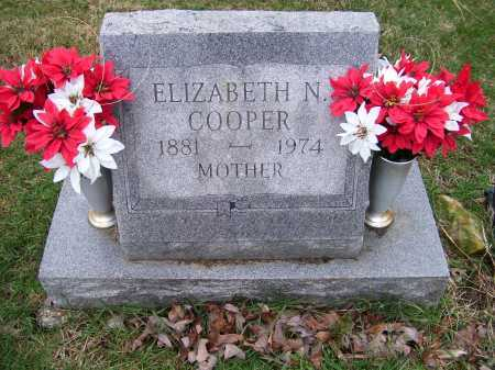 COOPER, ELIZABETH N. - Scioto County, Ohio   ELIZABETH N. COOPER - Ohio Gravestone Photos
