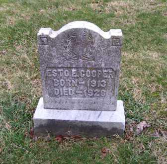 COOPER, ESTO E. - Scioto County, Ohio | ESTO E. COOPER - Ohio Gravestone Photos