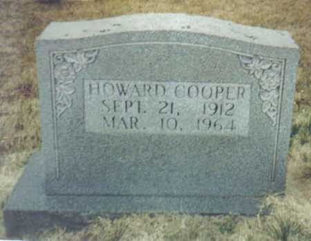 COOPER, HOWARD - Scioto County, Ohio | HOWARD COOPER - Ohio Gravestone Photos