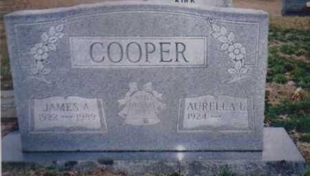 COOPER, AURELLA L. - Scioto County, Ohio | AURELLA L. COOPER - Ohio Gravestone Photos