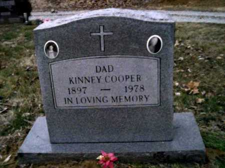 COOPER, KINNEY - Scioto County, Ohio   KINNEY COOPER - Ohio Gravestone Photos