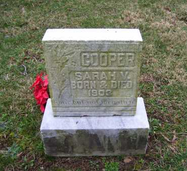 COOPER, SARAH M. - Scioto County, Ohio   SARAH M. COOPER - Ohio Gravestone Photos