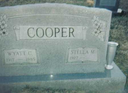 COOPER, STELLA M. - Scioto County, Ohio   STELLA M. COOPER - Ohio Gravestone Photos