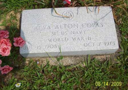 COPAS, ALVA ALTON - Scioto County, Ohio | ALVA ALTON COPAS - Ohio Gravestone Photos