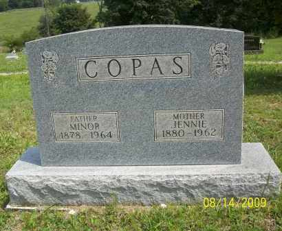 COPAS, MINOR - Scioto County, Ohio | MINOR COPAS - Ohio Gravestone Photos