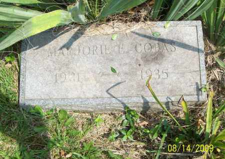 COPAS, MARJORIE E - Scioto County, Ohio   MARJORIE E COPAS - Ohio Gravestone Photos