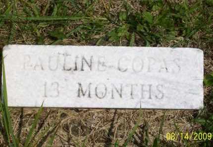 COPAS, PAULINE - Scioto County, Ohio   PAULINE COPAS - Ohio Gravestone Photos