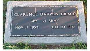 CRACE, CLARENCE DARWIN - Scioto County, Ohio | CLARENCE DARWIN CRACE - Ohio Gravestone Photos