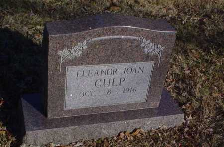 CULP, ELEANOR JOAN - Scioto County, Ohio | ELEANOR JOAN CULP - Ohio Gravestone Photos