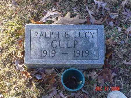 CULP, LUCY - Scioto County, Ohio | LUCY CULP - Ohio Gravestone Photos