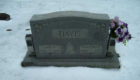DAVIS, JOHN W. - Scioto County, Ohio | JOHN W. DAVIS - Ohio Gravestone Photos