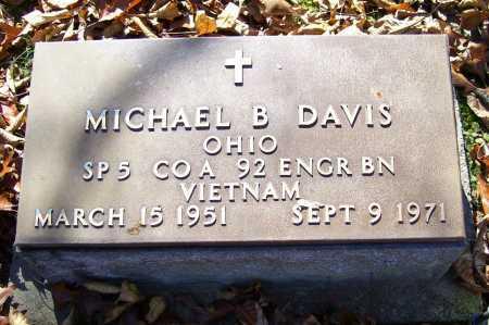 DAVIS, MICHAEL B. - Scioto County, Ohio | MICHAEL B. DAVIS - Ohio Gravestone Photos